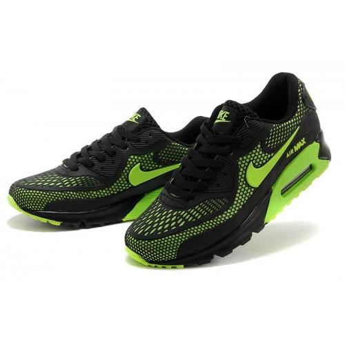 Men's Nike Air Maxs 90 Green Black