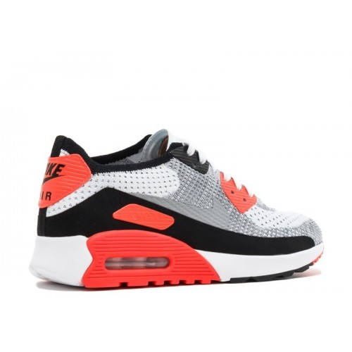 Women's Nike Air Max 90 Ultra 2.0 Flyknit White Wolf Grey