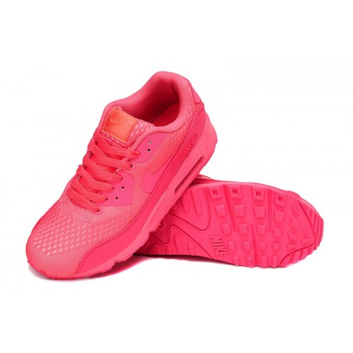 Women's Nike Air Max 90 Hyperfuse Premium Pink Red