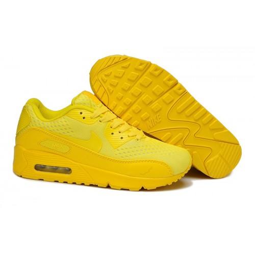 Women's Nike Air Max 90 Hyperfuse Premium Yellow