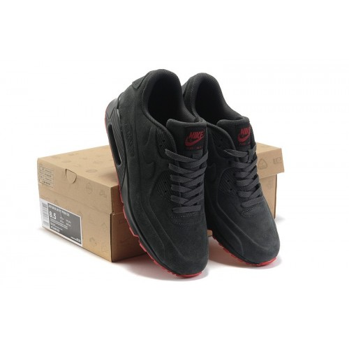 Women's Nike Air Max 90 VT Premium Grey Red