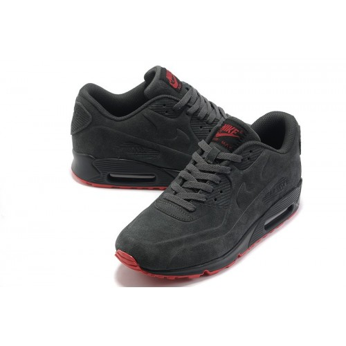Women's Nike Air Max 90 VT Premium Grey Red