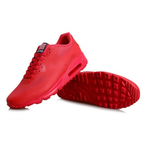 Men's Nike Air Max 90s All Red
