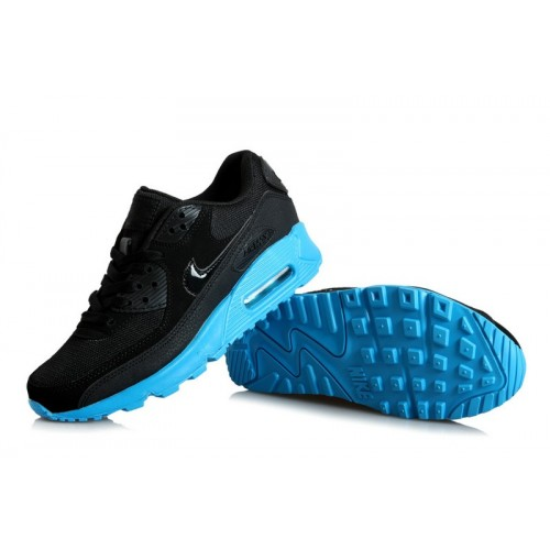 Men's Nike Air Max 90s Blue Black