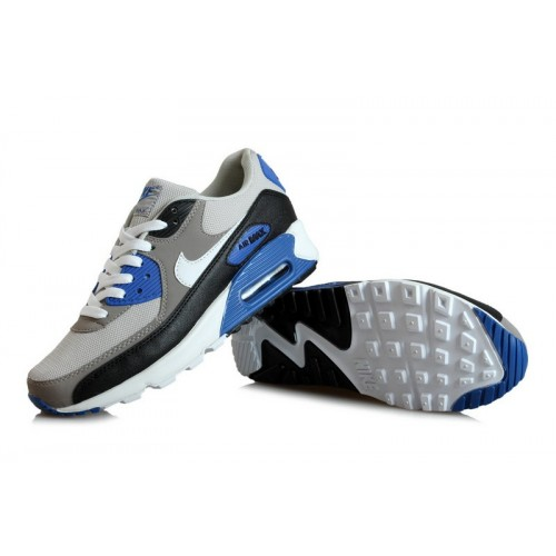 Men's Nike Air Max 90s Blue Black Grey White