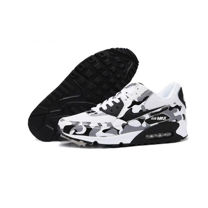 Men's Nike Air Max 90s Grey Black White