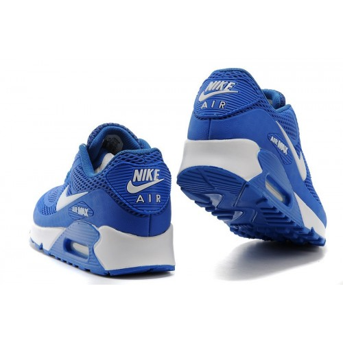 Men's Nike Air Maxs 90 Shoe In Blue White Disocunt