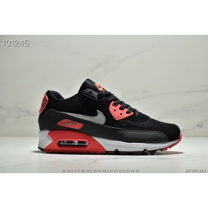 Men's Nike Air Max 90 Black Infrared AJ1285-012