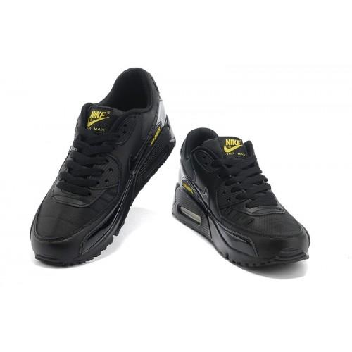 Men's Nike Air Max 90 Black Yellow
