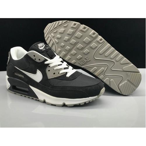 Men's Nike Air Max 90 Classic Black White