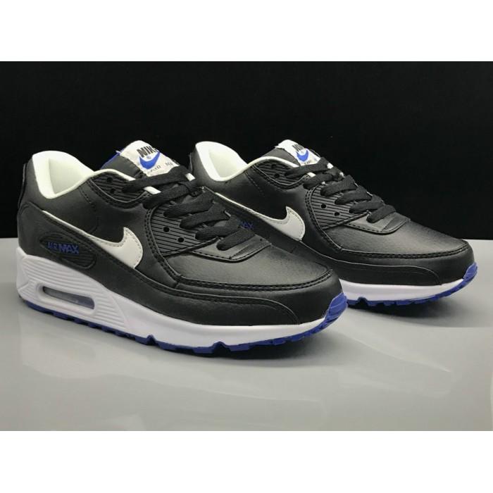 Men's Nike Air Max 90 Classic Blue Black White