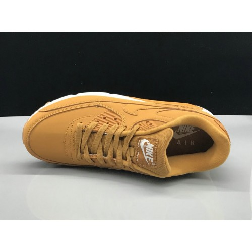 Men's Nike Air Max 90 Classic Wheat White