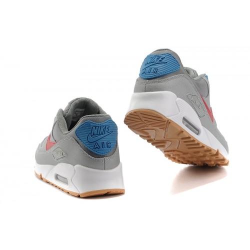 Men's Nike Air Max 90 Grey Red