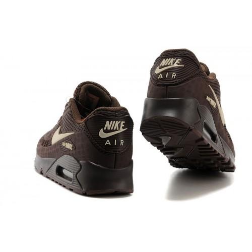 Men's Nike Air Max 90 Men Brown White