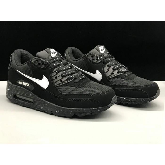 Men's Nike Air Max 90s Classic White Black