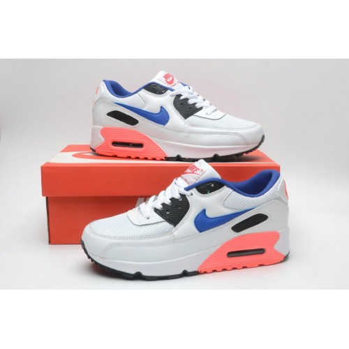 Women's Nike Air Maxs 90 Ultramarine White Blue Pink