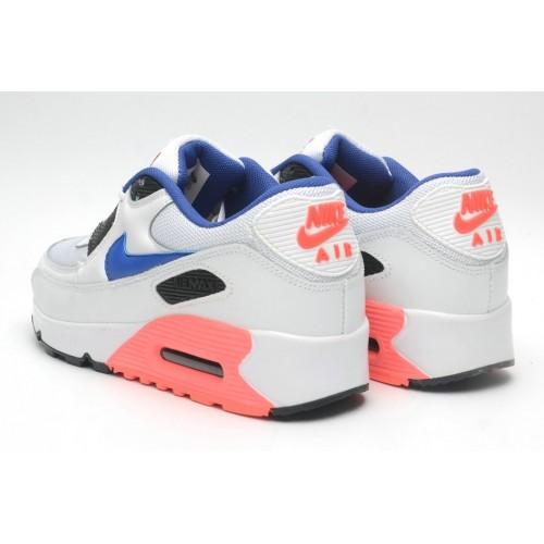 Women's Nike Air Maxs 90 Ultramarine White Blue Pink