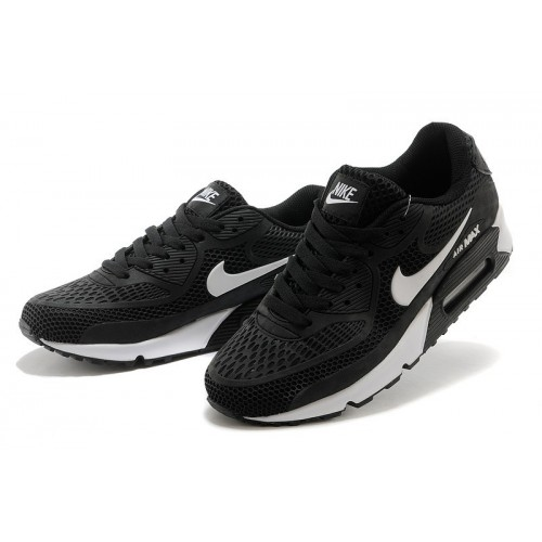 Women's Nike Air Maxs 90 White Black