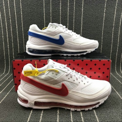 Men's 2018 Nike Air Max 97 BW Skepta Summit White Hyper Cobalt