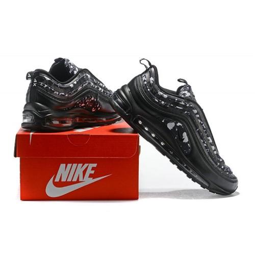Men's 2018 Nike Air Max 97 SneakerBoots Black Grey Sale