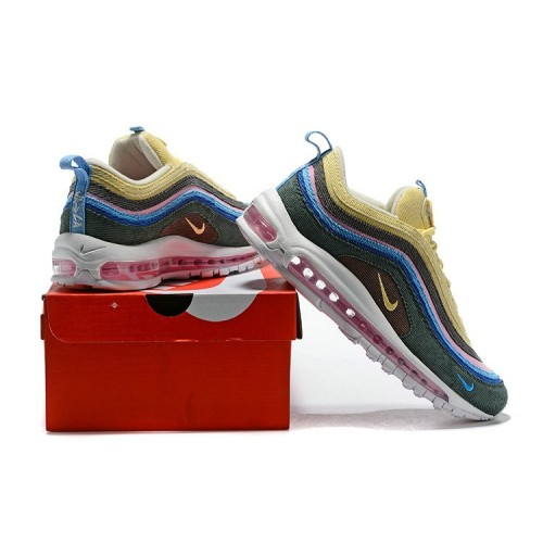 Men's 2018 Nike Air Max 97 SneakerBoots Rainbow Sale