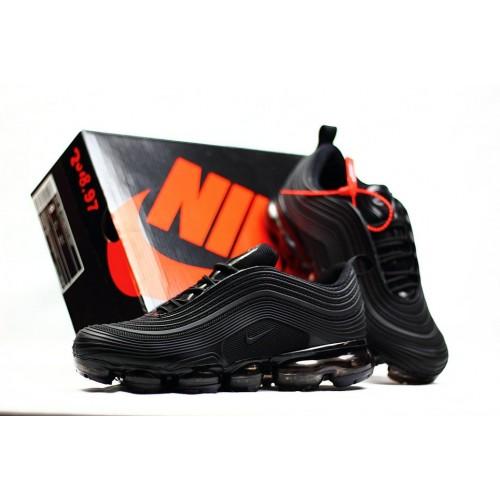 Men's 2018 Nike Air Max 97 Ultra VaporMax Triple Black
