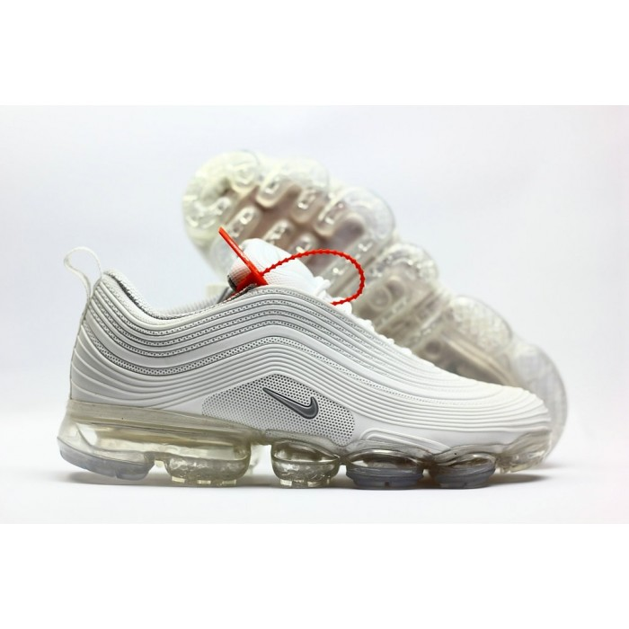 Men's 2018 Nike Air Max 97 Ultra VaporMax Triple White