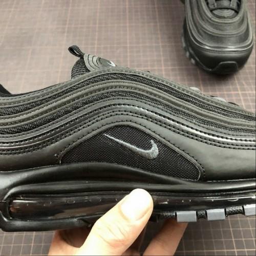 Men's 2019 Nike Air Max 97 Triple Black 921733-001