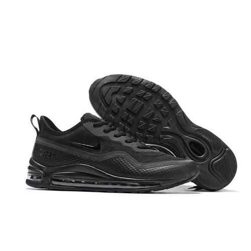 Men's 2019 Nike Air Max 97 Ultra 17 SE Triple Black