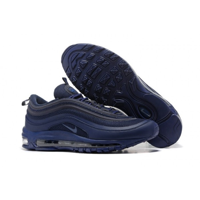 Men's Air Max 97 Cushion Nike Air Max Navy Blue Black
