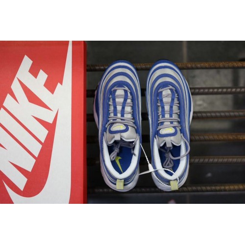 Men's Nike Air Max 97 OG Green Blue Fluorescent White
