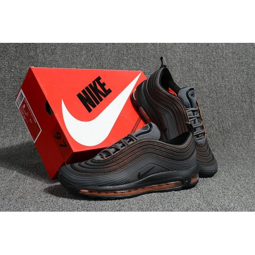 Men's Nike Air Max 97 Ultra 17 Black Hyper Orange