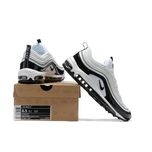 Men's Nike Air Max 97 In White Black