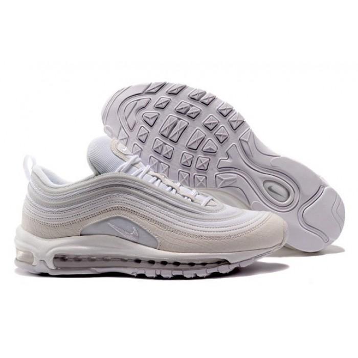 Men's Nike Air Max 97 In White Pink