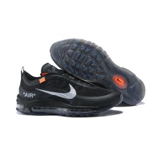 Men's Air Max x Off-White x Nike Air Max 97 Black Outlet