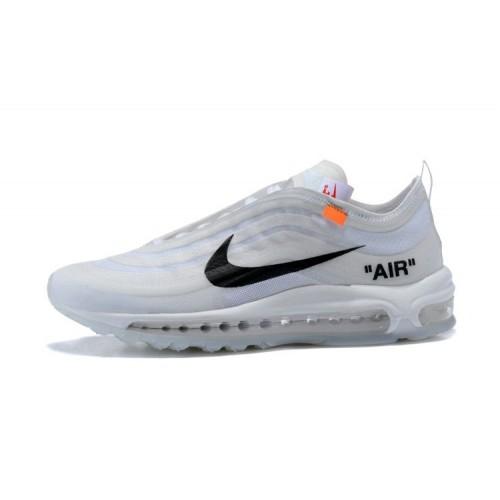 Men's Air Max x Off White x Nike Air Max 97 White