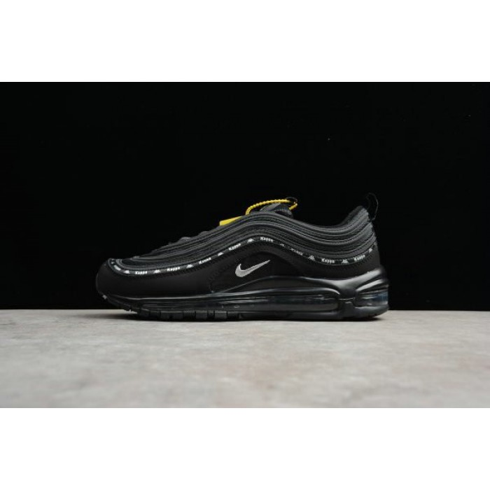 Women's Kappa x Nike Air Max 97 OG Black Silver AJ1986-007 Size Shoes