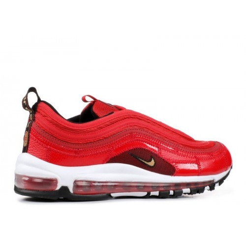 Men's Nike Air Max 97 Cr7 Cristiano Patchwork University Red