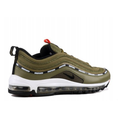 Men's Nike Air Max 97 Og Undftd Undefeated Aj1986-300 Green Orange