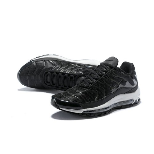 Men's Nike Air Max 97 Plus Max TN Black White