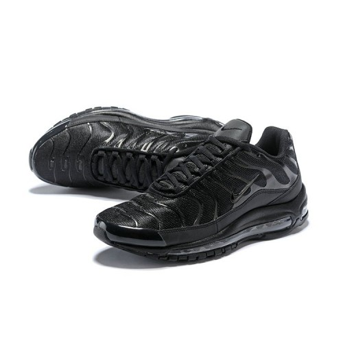 Men's Nike Air Max 97 Plus Max TN Triple Black