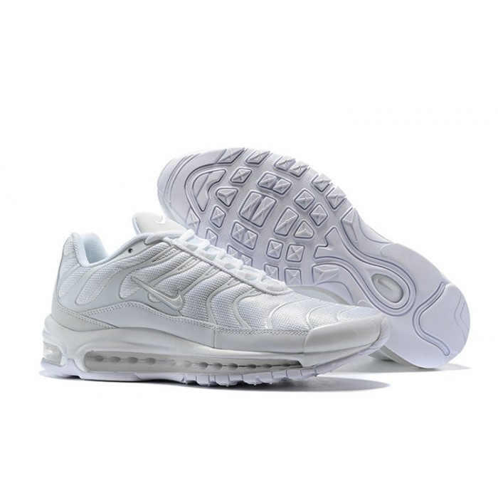 Men's Nike Air Max 97 Plus Max TN Triple White