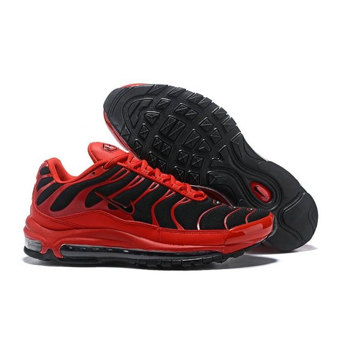 Men's Nike Air Max 97 Plus TN Red Black