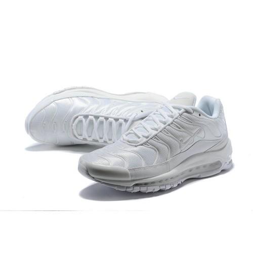 Women's Nike Air Max 97 Plus TN All White