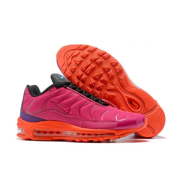 Women's Nike Air Max 97 Plus TN Pink Orange Black Purple