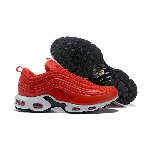 Women's Nike Air Max 97 Plus Red White Black