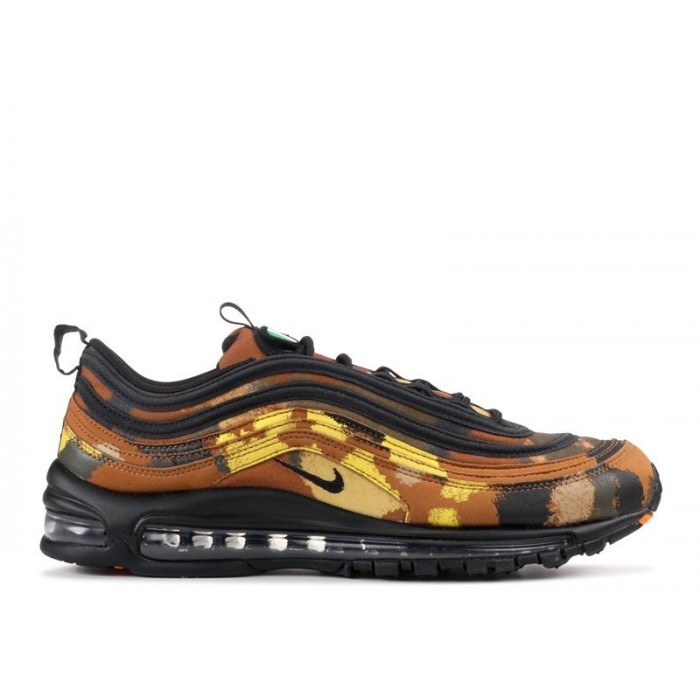 Men's Nike Air Max 97 Premium Qs Country Camo Pack Italy
