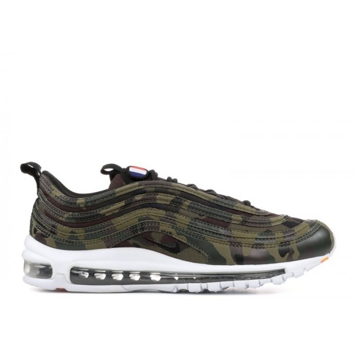 Men's Nike Air Max 97 Prm Qs Country Camo Pack France Dark Army