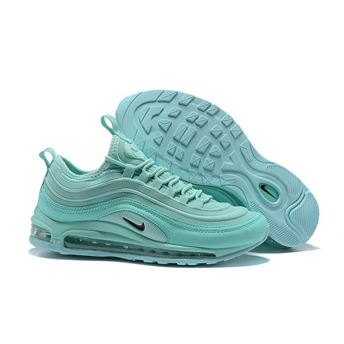 Men's Nike Air Max 97 Running Shoes Apple Green