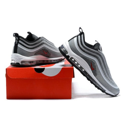 Men's Nike Air Max 97 Ultra 17 Wolf Grey Red Black